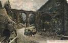 Albula Bahn und Strasse