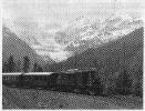 RhB Ge 4/4 182 mit Personenzug 1976