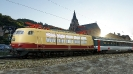 DB BR 103 mit EC 101 in Oberwesel