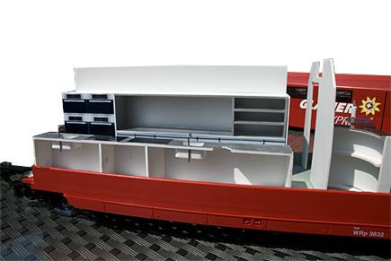 Tuning lgb premium glacier express panoramawagen for Backofen mit wagen